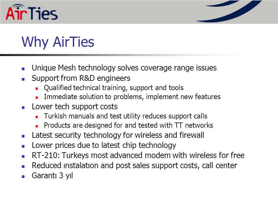 Why AirTies Unique Mesh technology solves coverage range issues