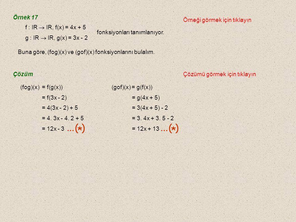 ... ( ) * Örnek 17 Örneği görmek için tıklayın