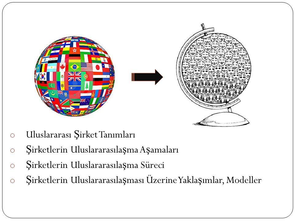 Uluslararası Şirket Tanımları