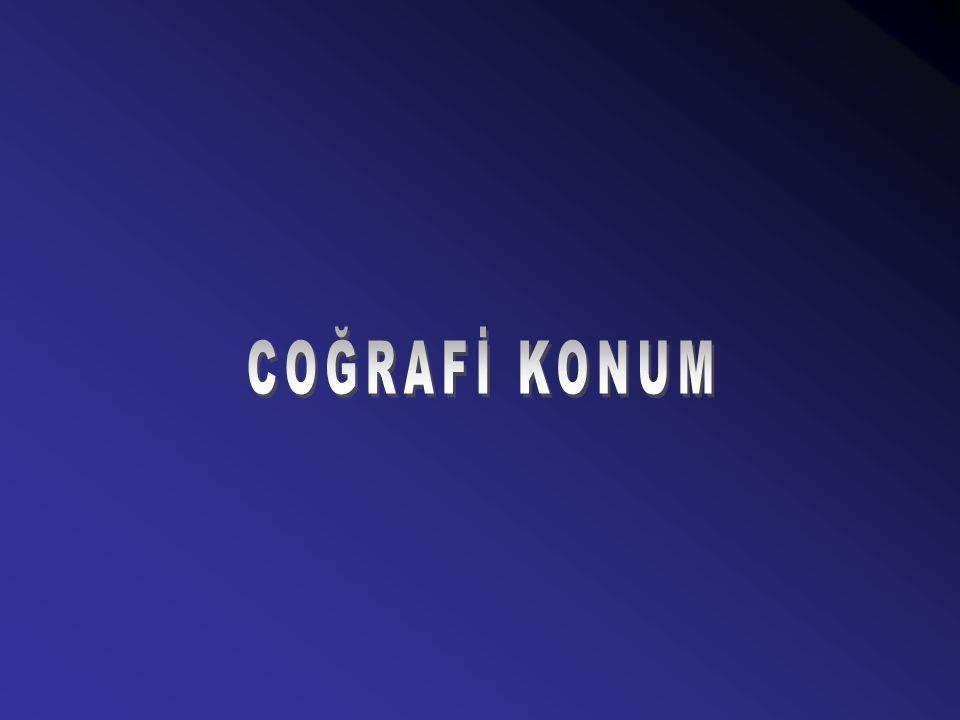 COĞRAFİ KONUM