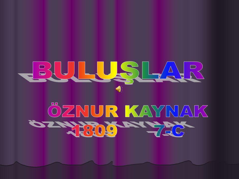 BULUŞLAR ÖZNUR KAYNAK 1809 7-C