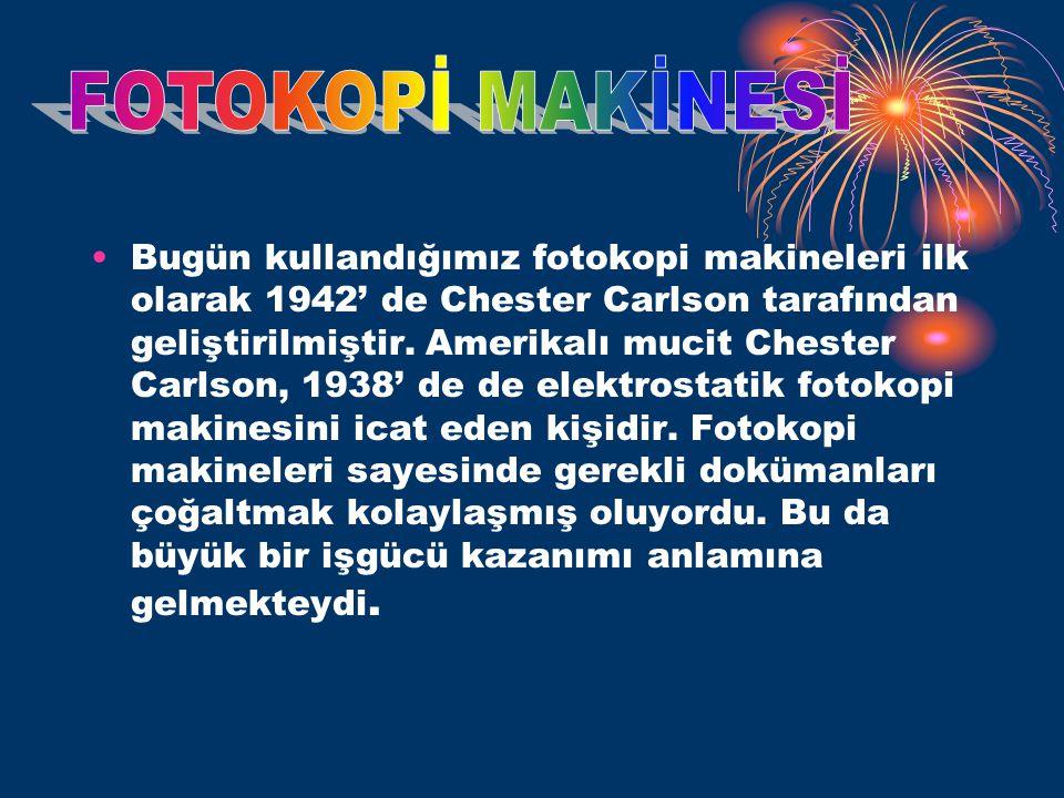 FOTOKOPİ MAKİNESİ