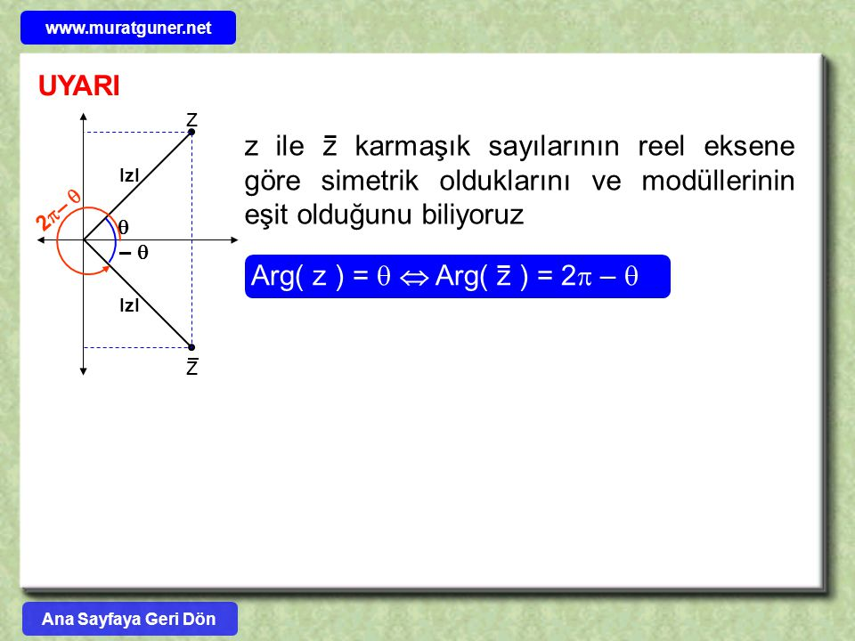 www.muratguner.net UYARI.  –  IzI. 2–  z.