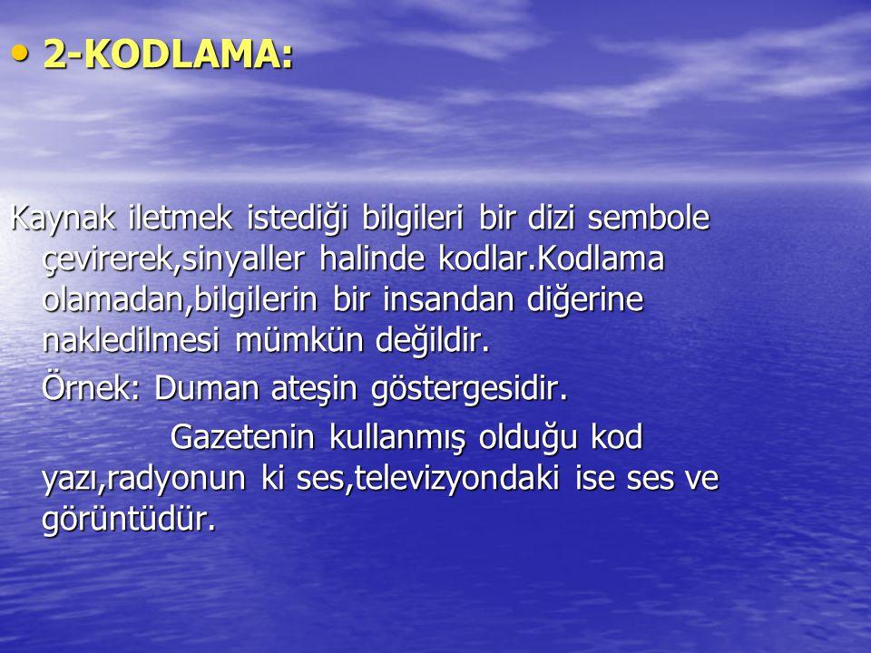 2-KODLAMA: