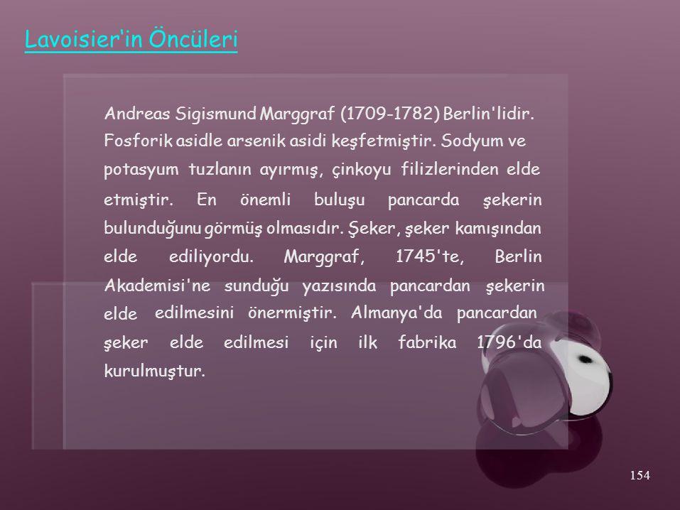 Lavoisier'in Öncüleri