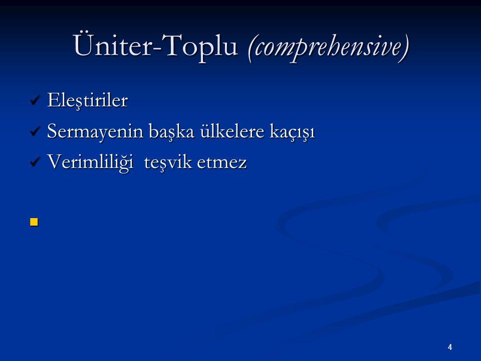 Üniter-Toplu (comprehensive)
