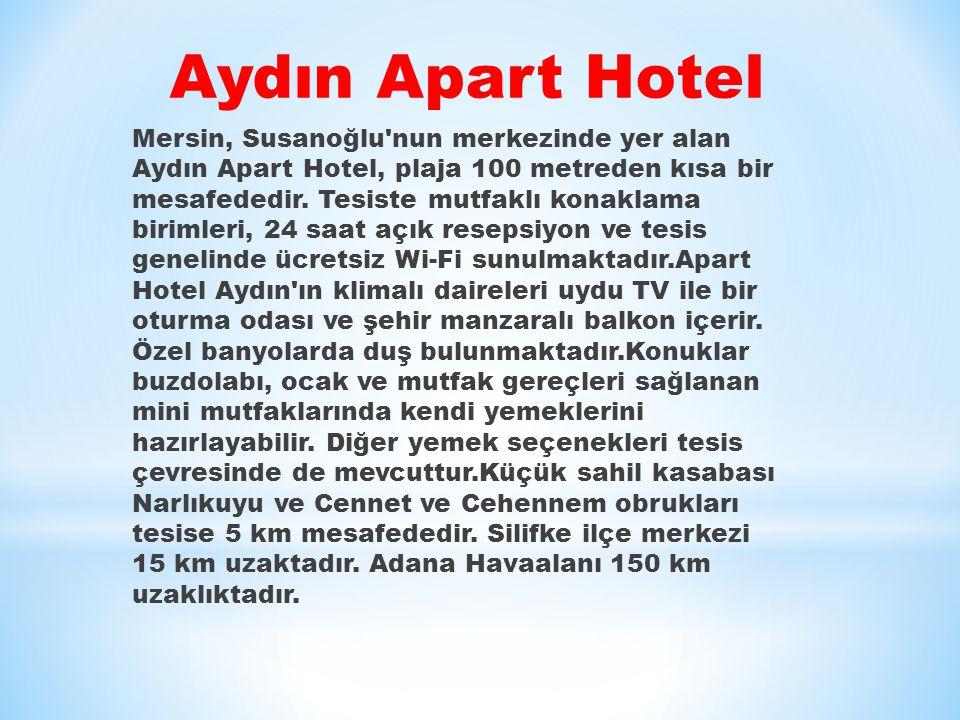 Aydın Apart Hotel