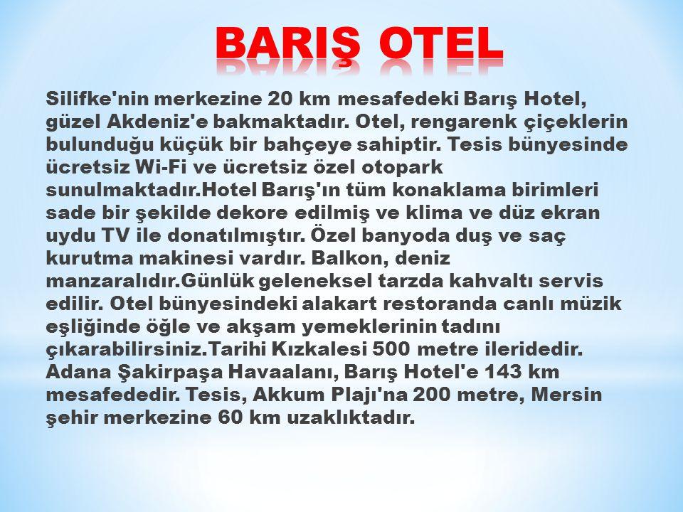 BARIŞ OTEL