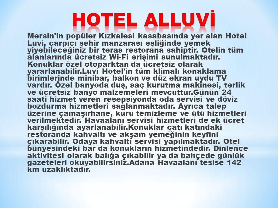 HOTEL ALLUVİ