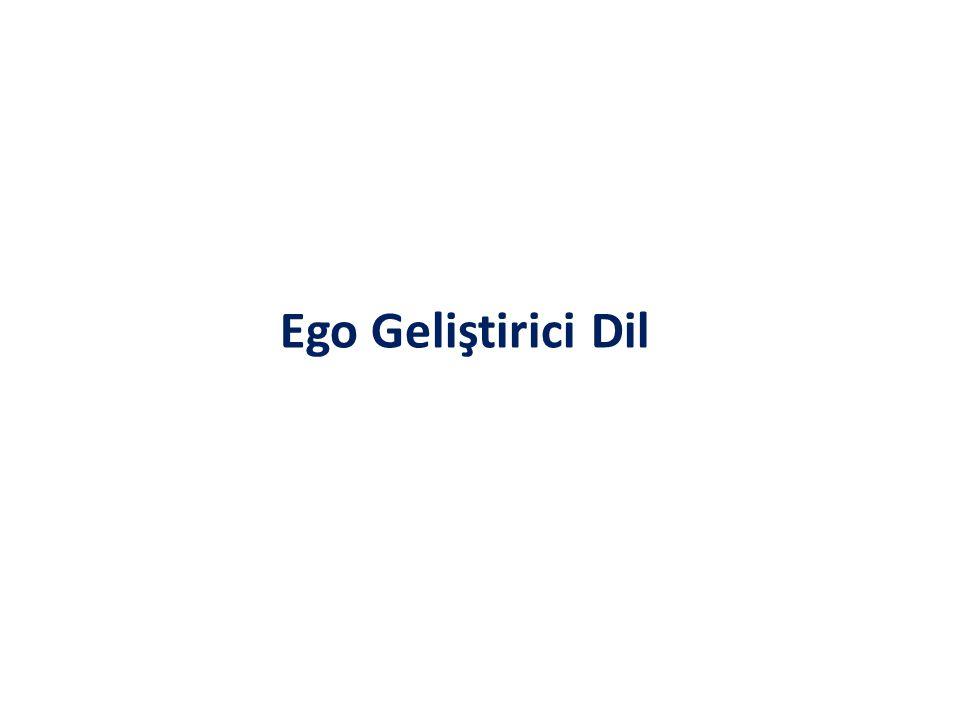 Ego Geliştirici Dil