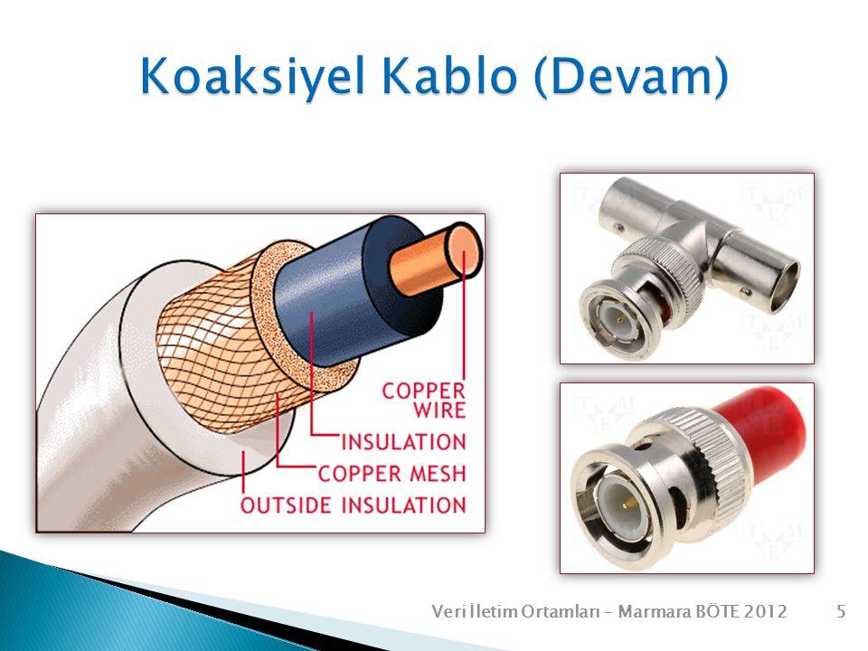 Koaksiyel Kablo (Devam)