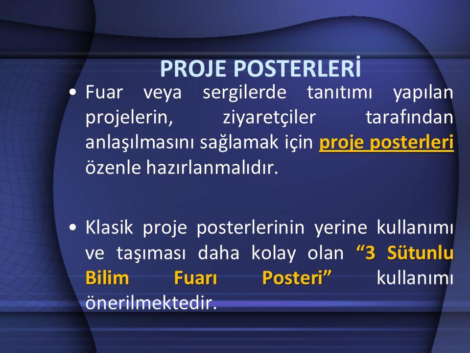 PROJE POSTERLERİ