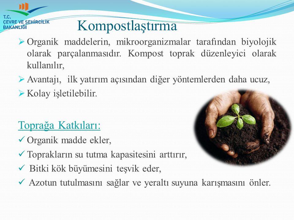 Kompostlaştırma Toprağa Katkıları: