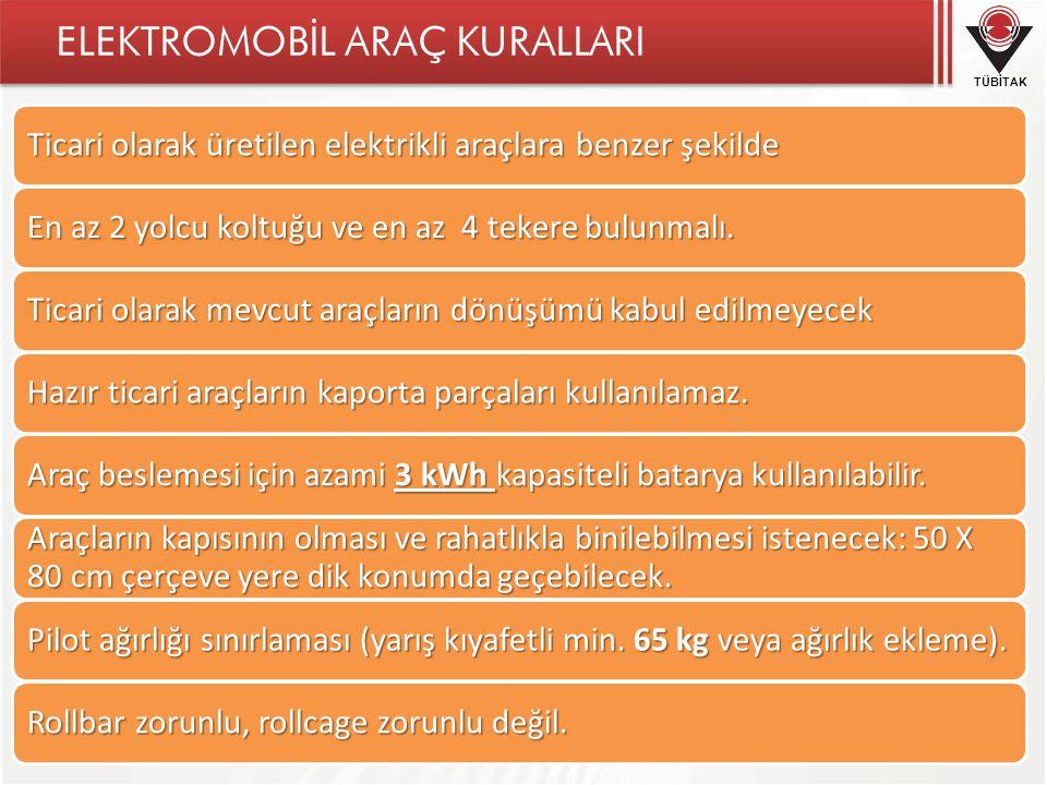 ELEKTROMOBİL ARAÇ KURALLARI