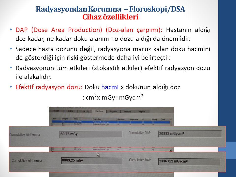 Radyasyondan Korunma – Floroskopi/DSA