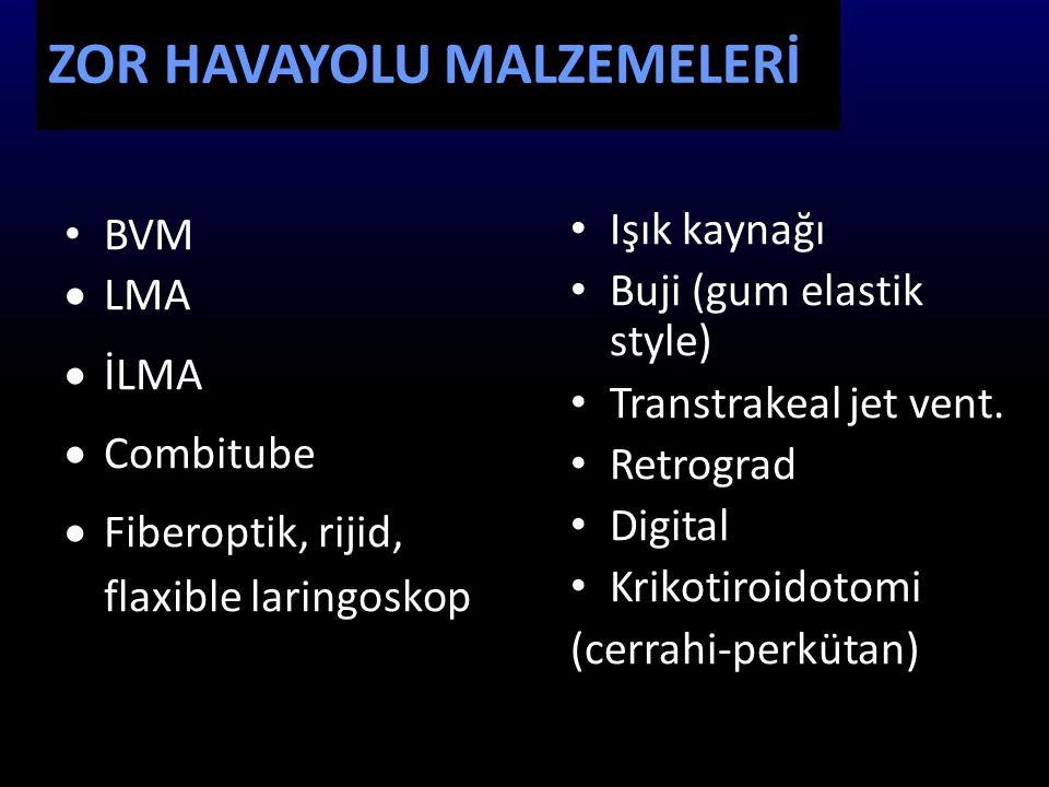 ZOR HAVAYOLU MALZEMELERİ