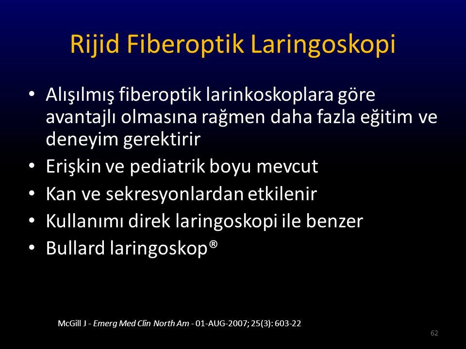 Rijid Fiberoptik Laringoskopi