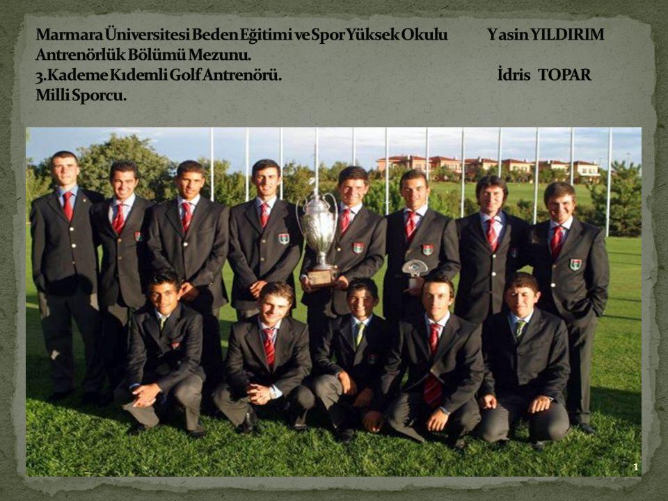 Marmara Üniversitesi Beden Eğitimi ve Spor Yüksek Okulu Y asin YILDIRIM Antrenörlük Bölümü Mezunu.