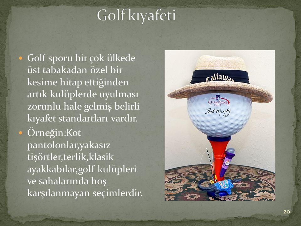 Golf kıyafeti