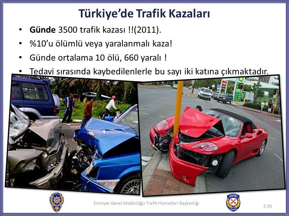 Türkiye'de Trafik Kazaları