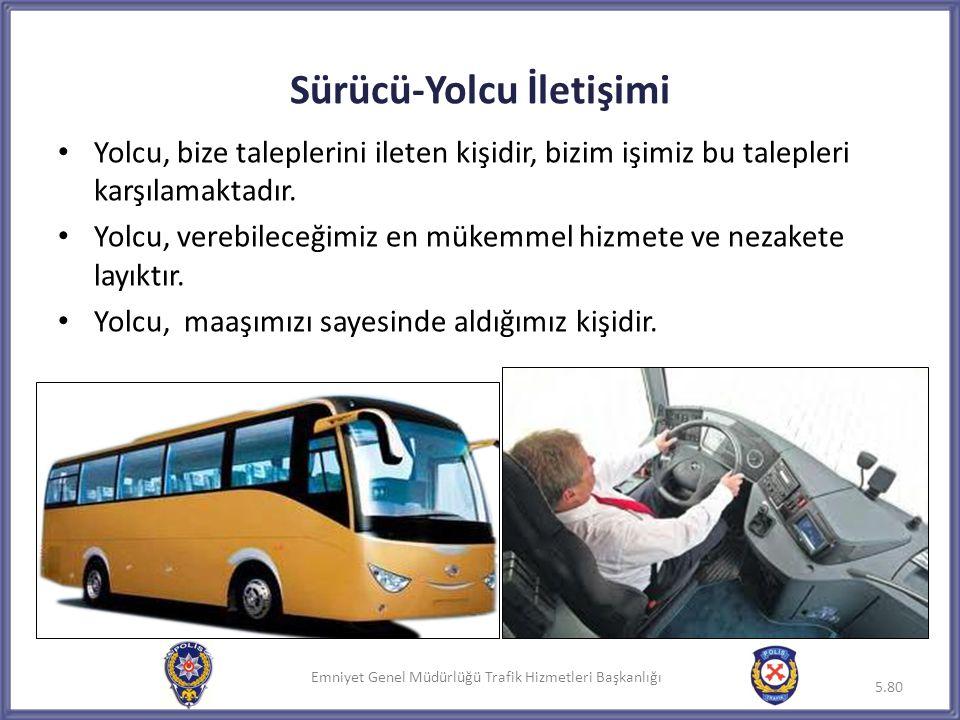 Sürücü-Yolcu İletişimi