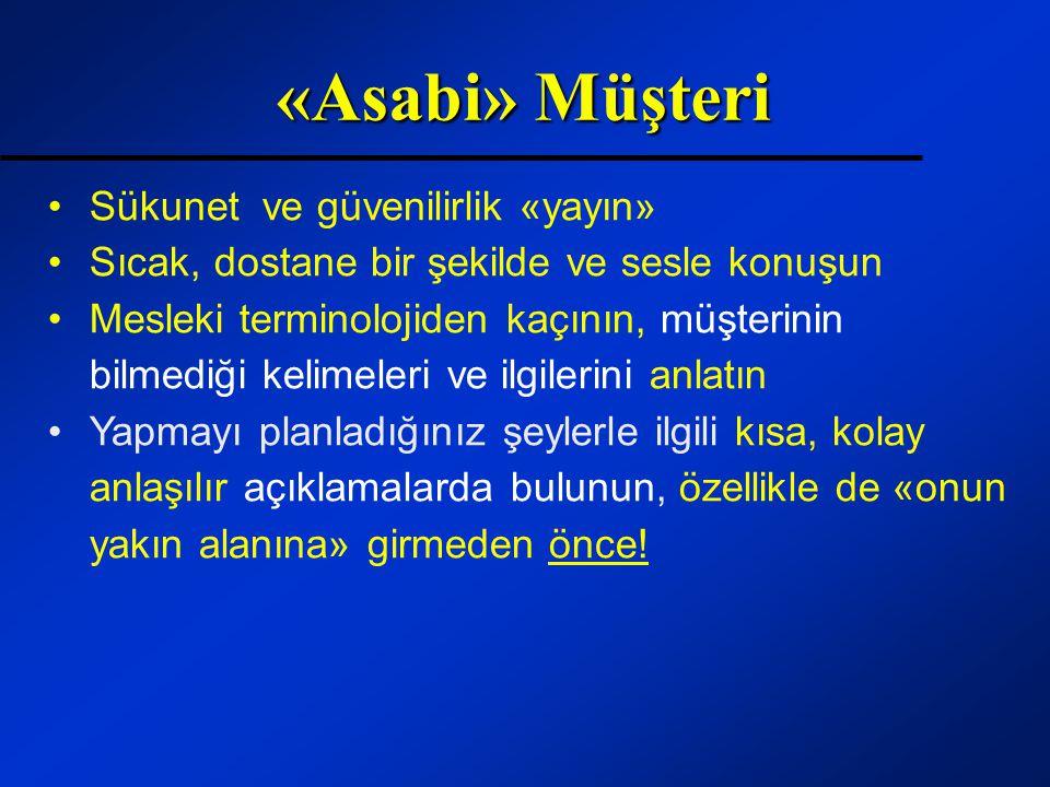 «Asabi» Müşteri Sükunet ve güvenilirlik «yayın»