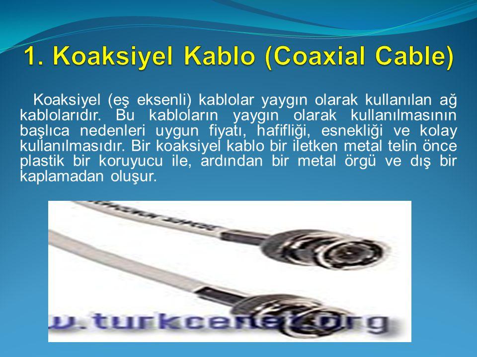 1. Koaksiyel Kablo (Coaxial Cable)