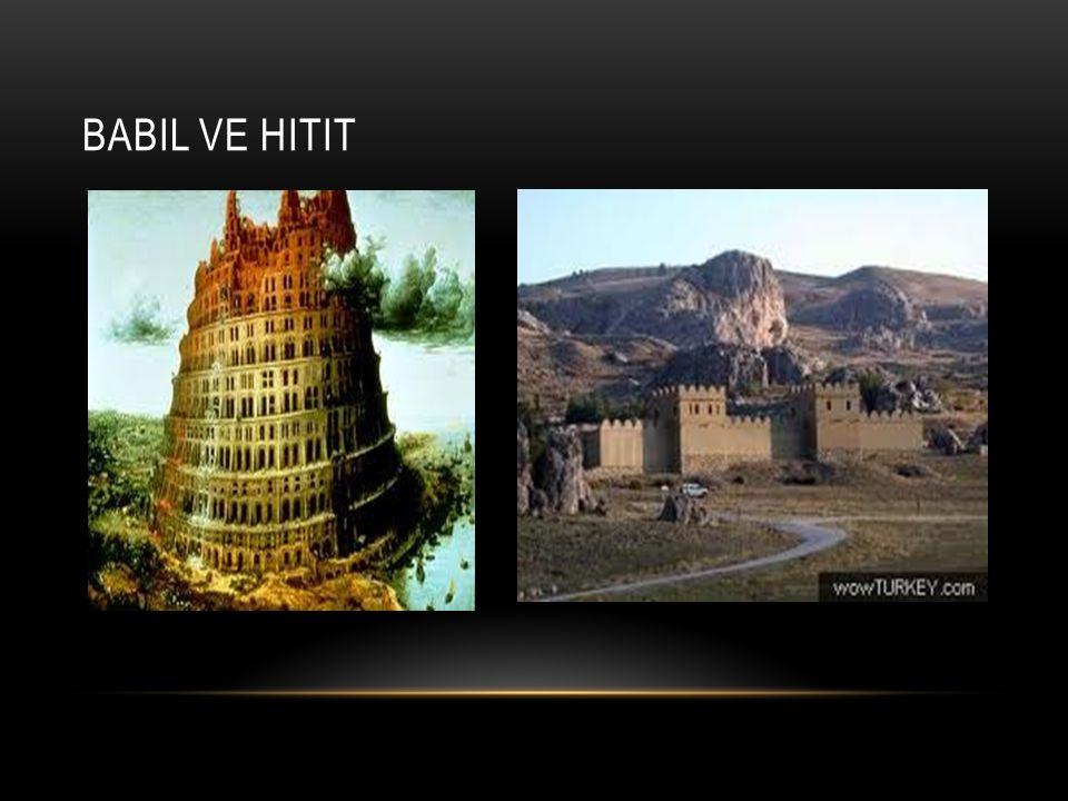 Babil ve Hitit