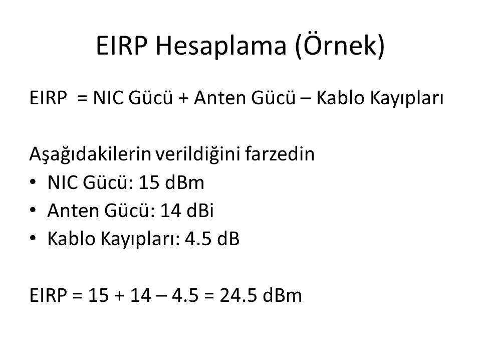 EIRP Hesaplama (Örnek)