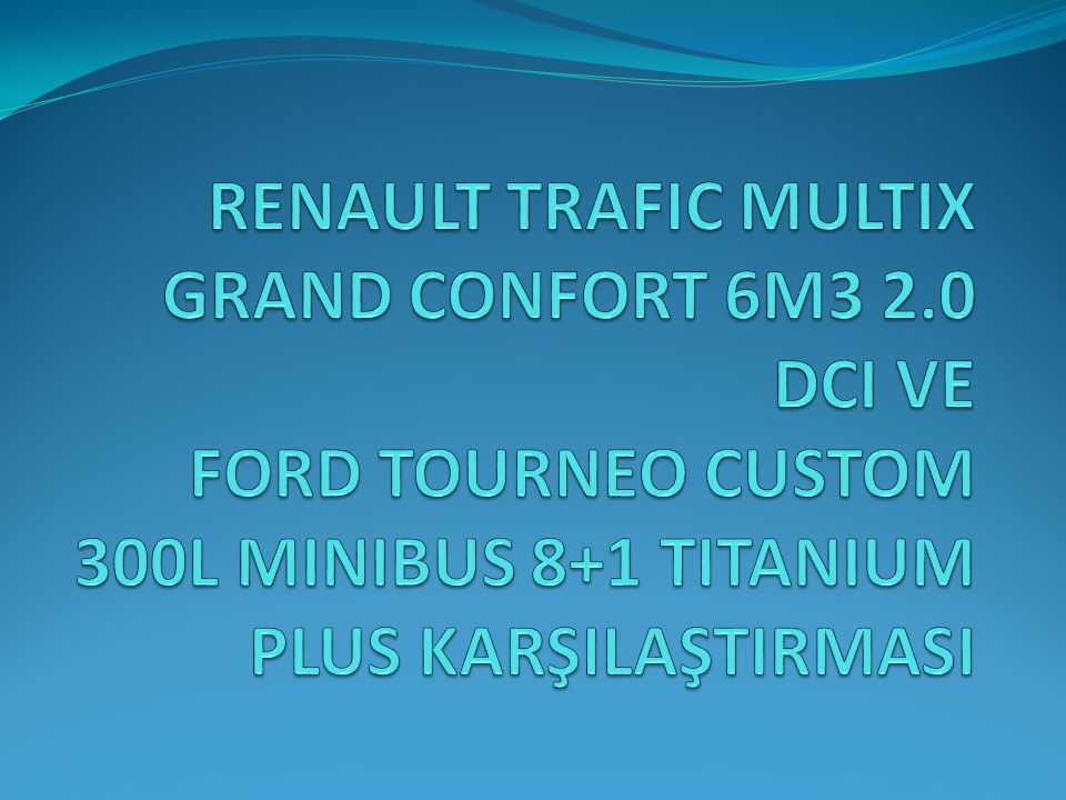 RENAULT TRAFIC MULTIX GRAND CONFORT 6M3 2