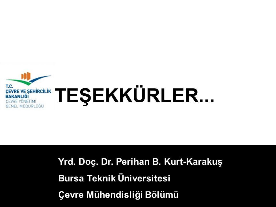 TEŞEKKÜRLER... Yrd. Doç. Dr. Perihan B. Kurt-Karakuş