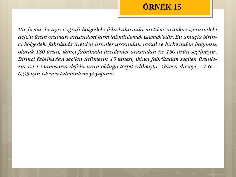 ÖRNEK 15