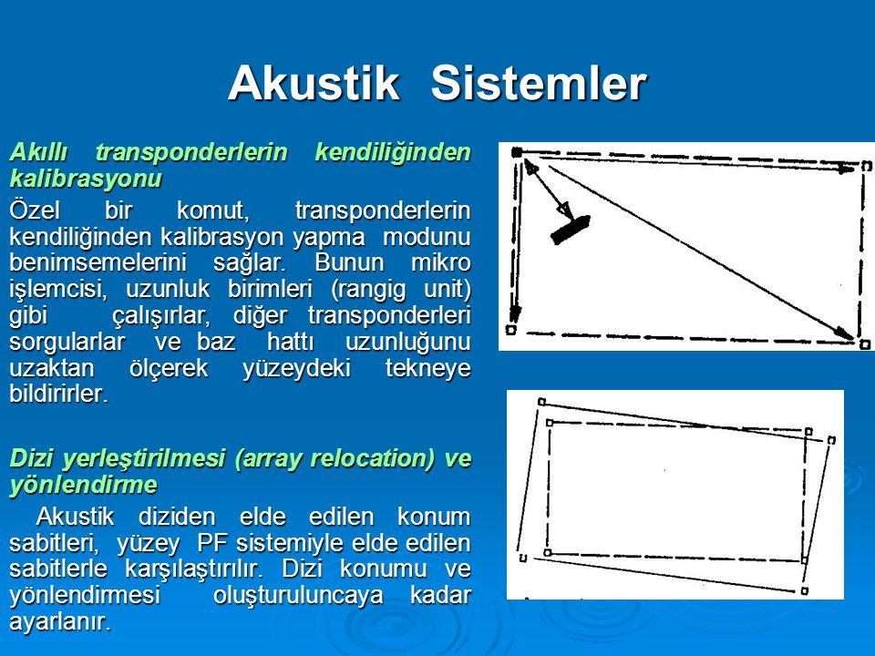 Akustik Sistemler Akıllı transponderlerin kendiliğinden kalibrasyonu