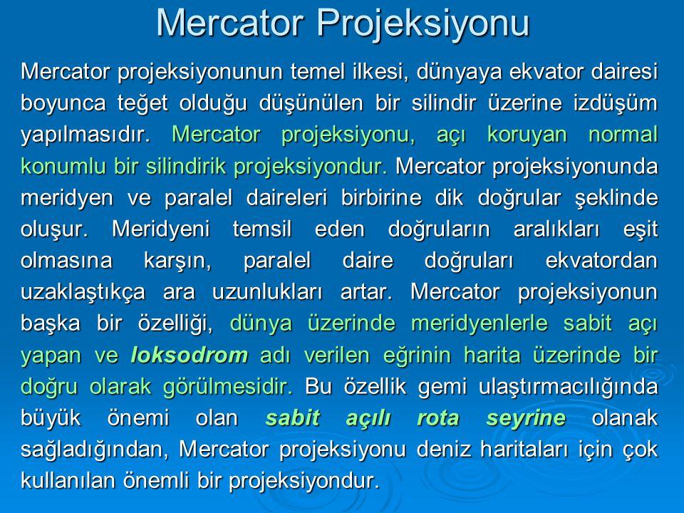 Mercator Projeksiyonu