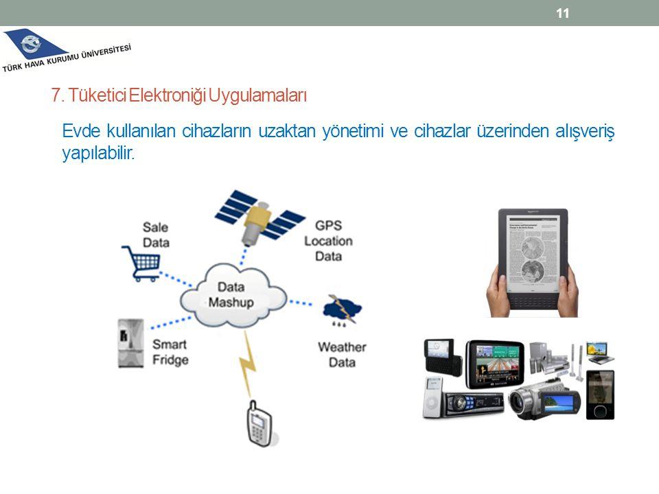 7. Tüketici Elektroniği Uygulamaları