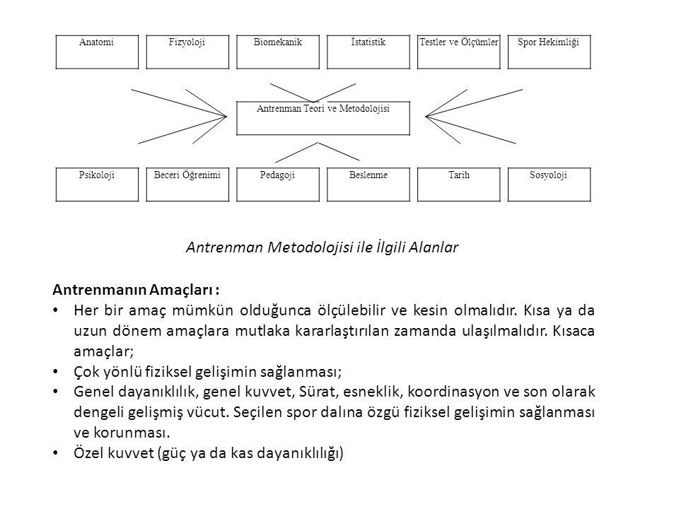 Antrenman Teori ve Metodolojisi