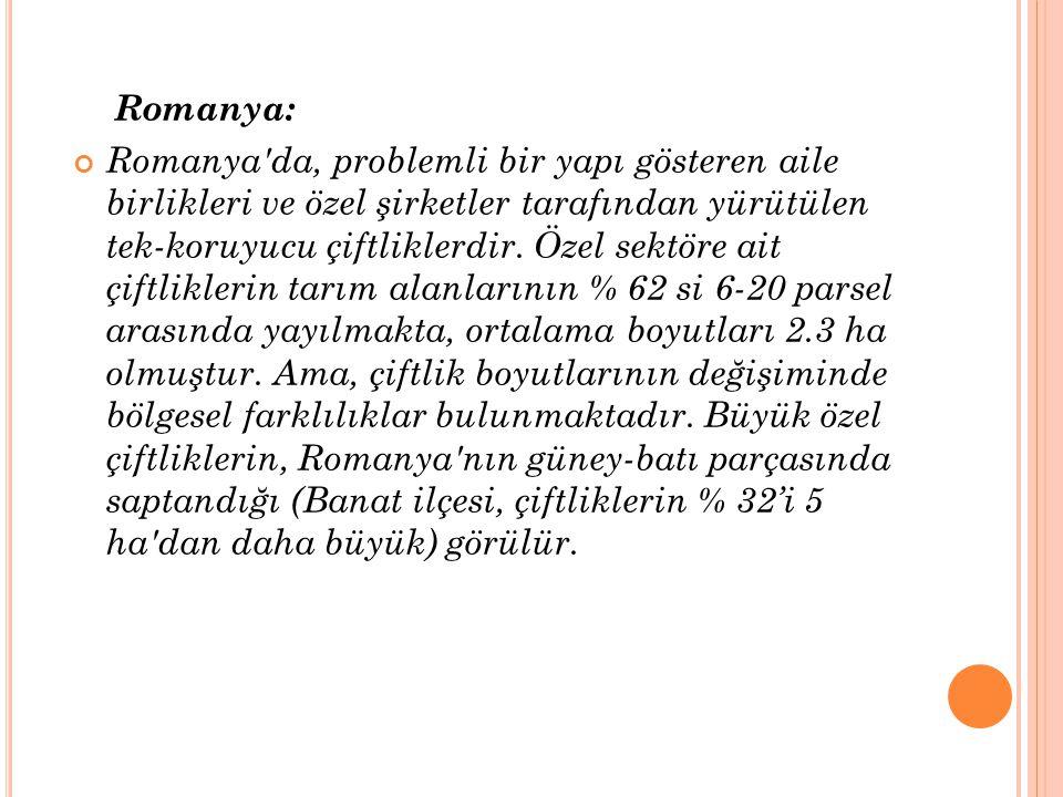 Romanya: