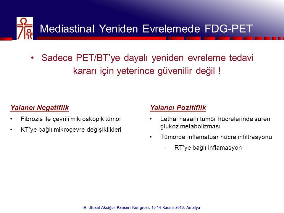 Mediastinal Yeniden Evrelemede FDG-PET