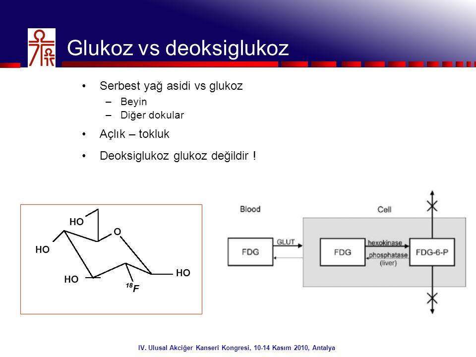 Glukoz vs deoksiglukoz