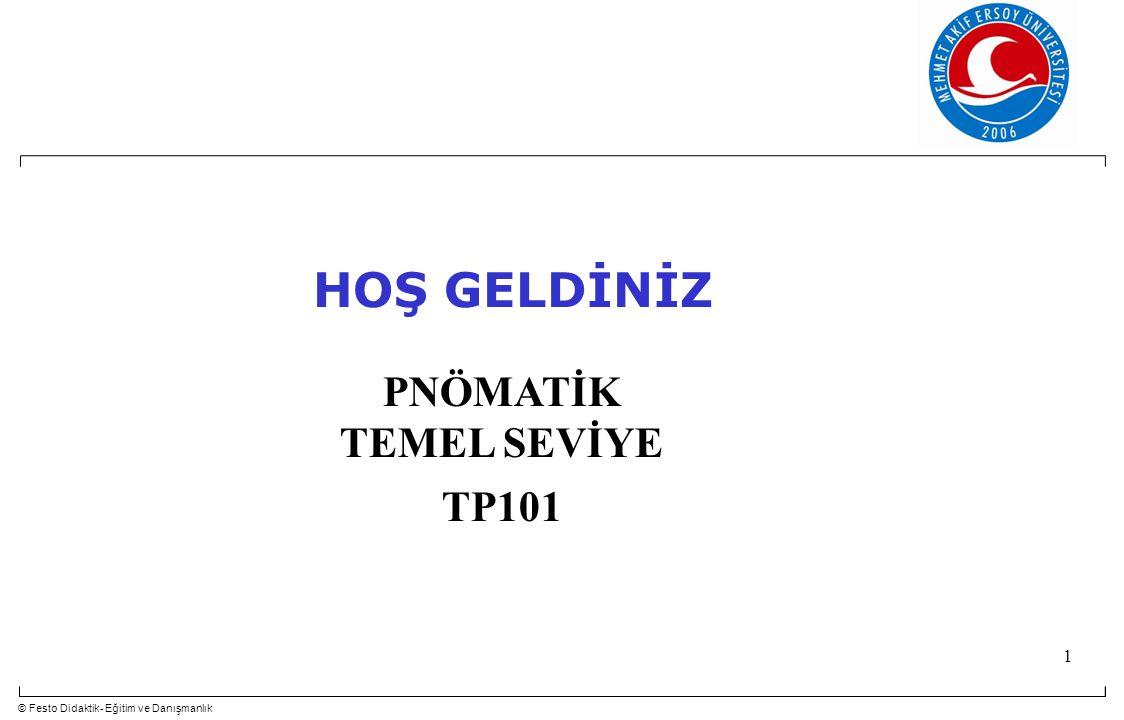 HOŞ GELDİNİZ PNÖMATİK TEMEL SEVİYE TP101