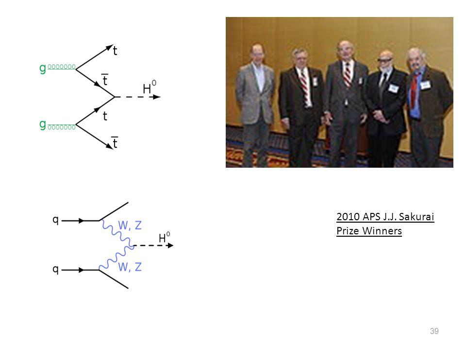 2010 APS J.J. Sakurai Prize Winners