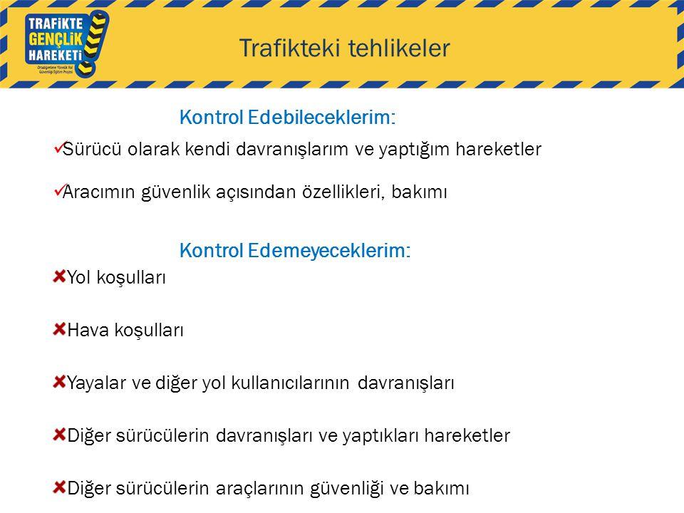 Trafikteki tehlikeler