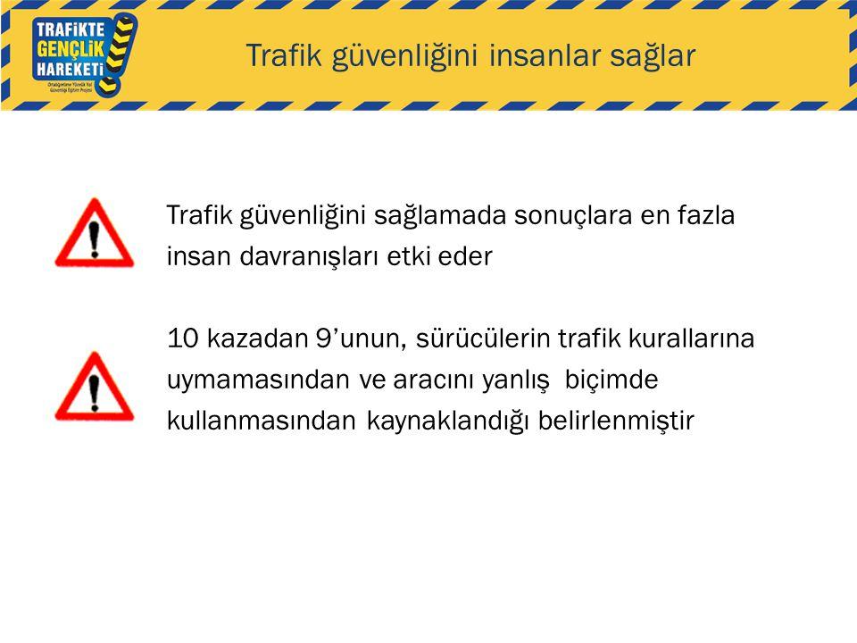 Trafik güvenliğini insanlar sağlar