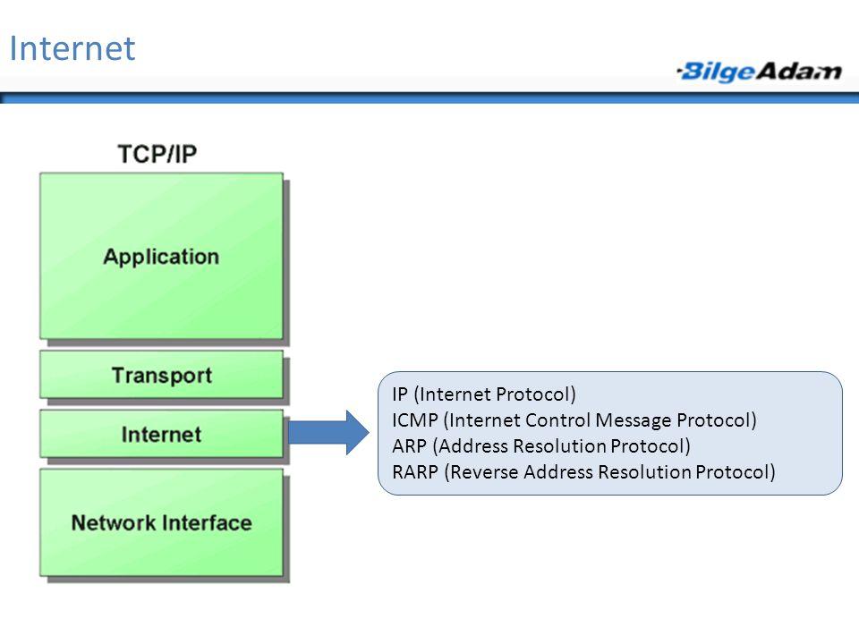 Internet IP (Internet Protocol)