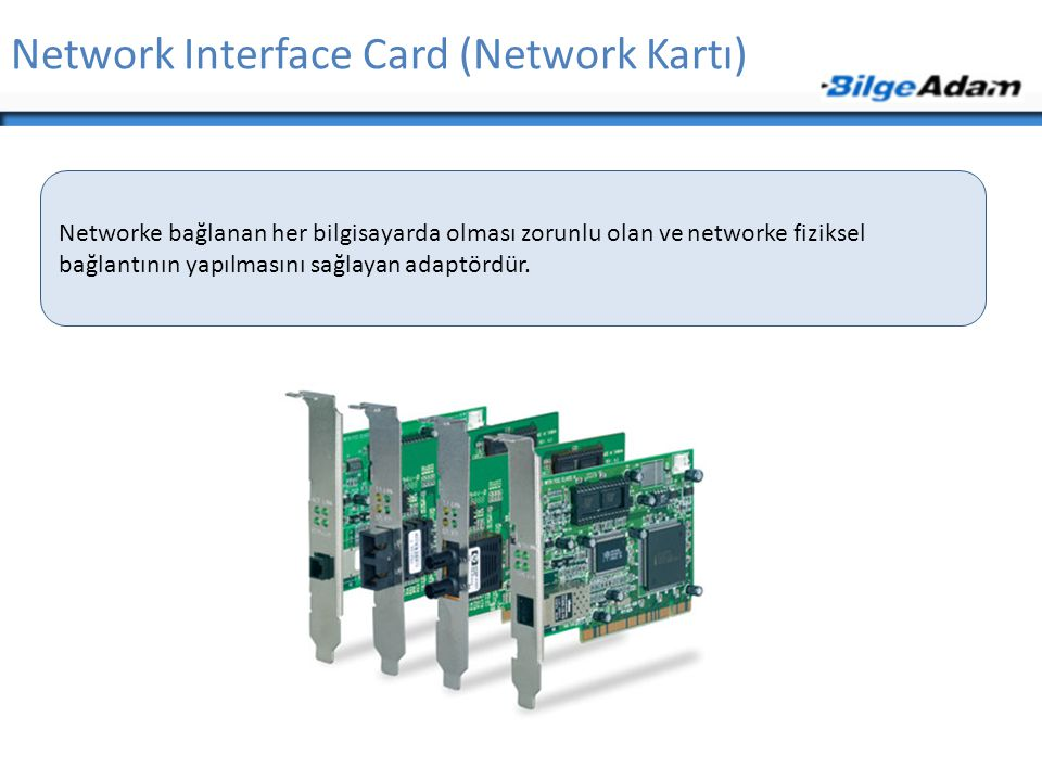 Network Interface Card (Network Kartı)