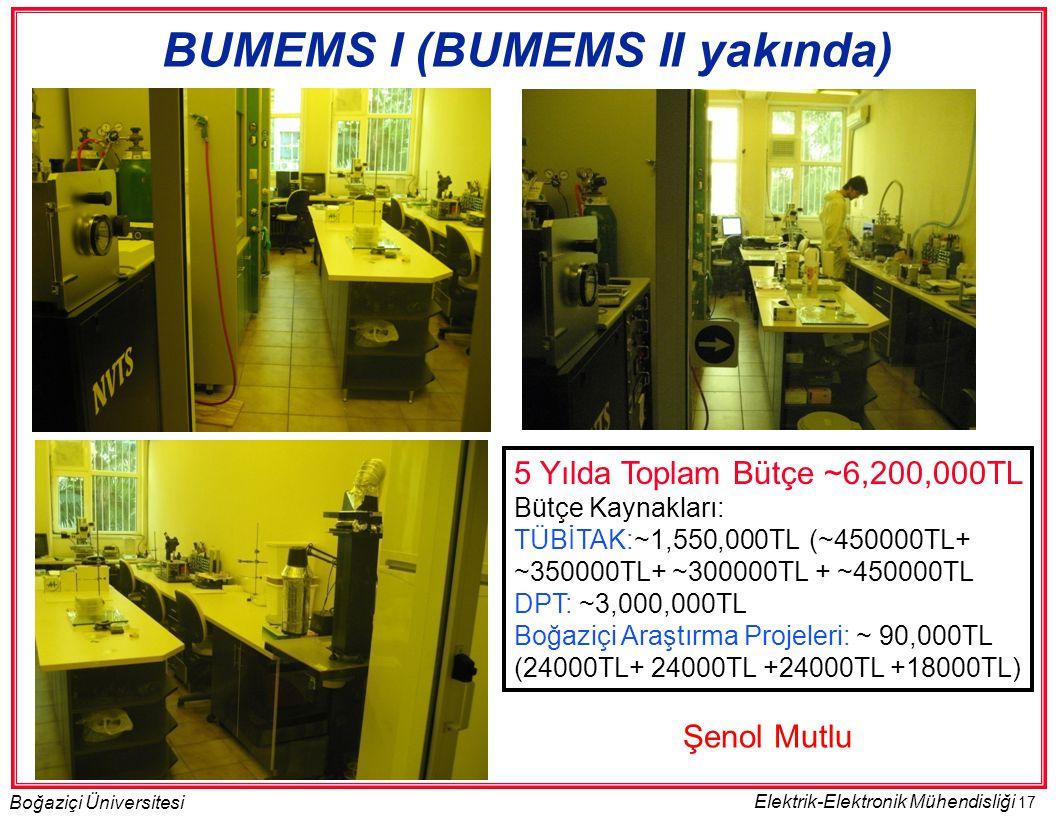 BUMEMS I (BUMEMS II yakında)