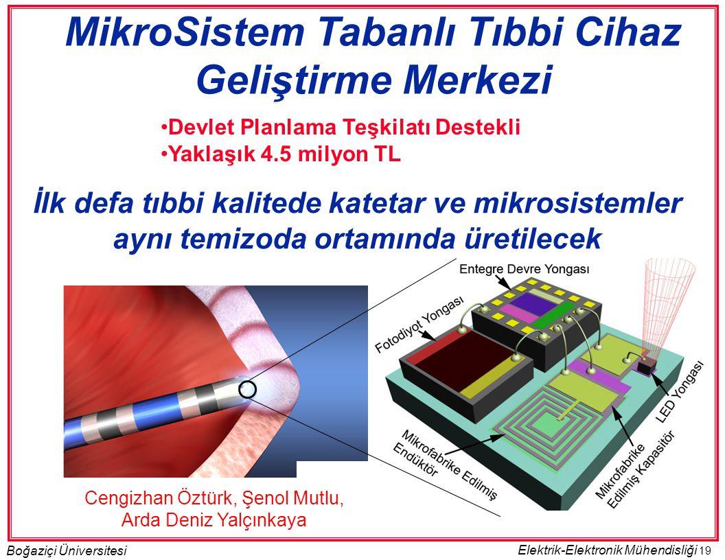 MikroSistem Tabanlı Tıbbi Cihaz Geliştirme Merkezi