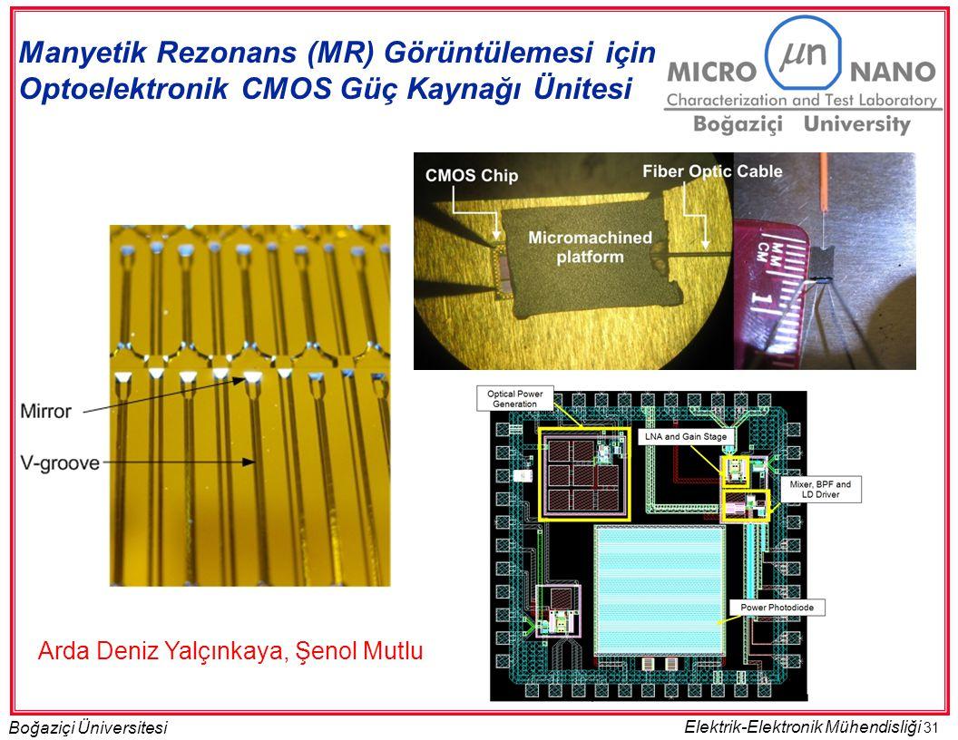 Manyetik Rezonans (MR) Görüntülemesi için Optoelektronik CMOS Güç Kaynağı Ünitesi
