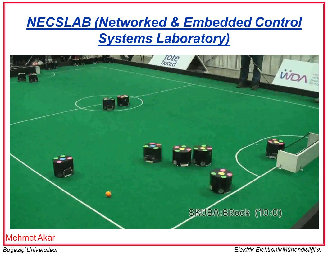 NECSLAB (Networked & Embedded Control Systems Laboratory)