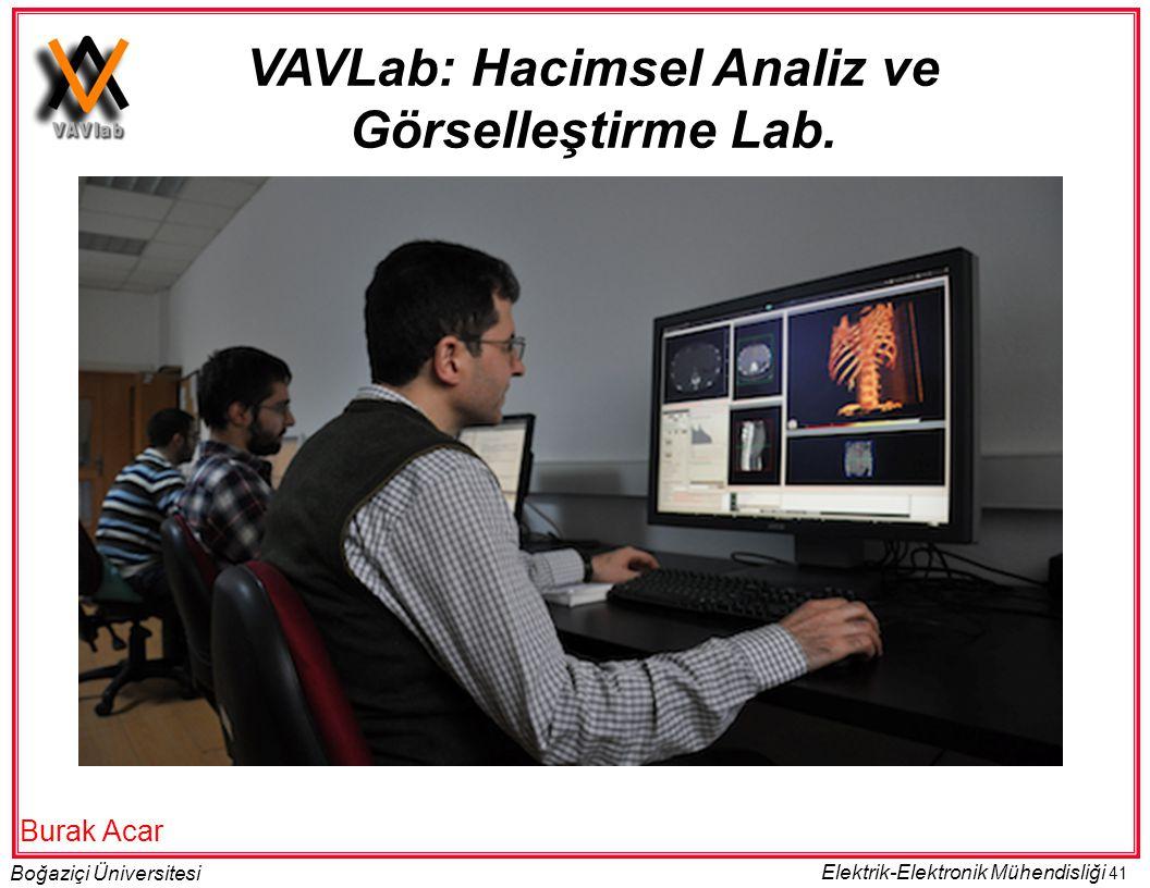 VAVLab: Hacimsel Analiz ve Görselleştirme Lab.